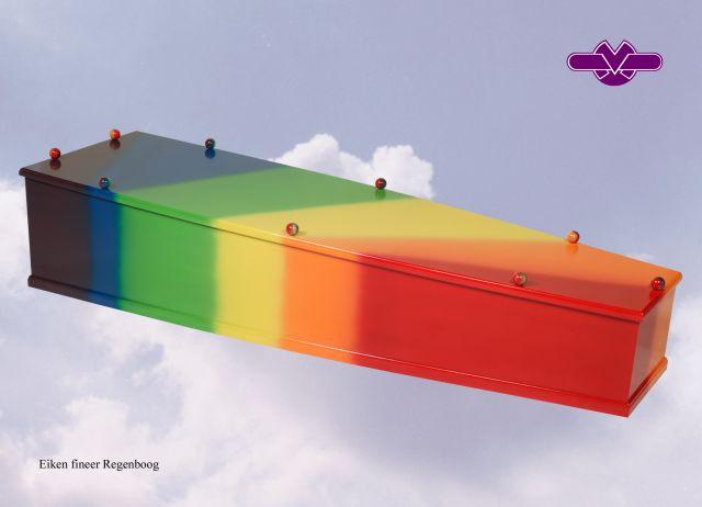 Regenboog kist. Meerprijs € 1200,00