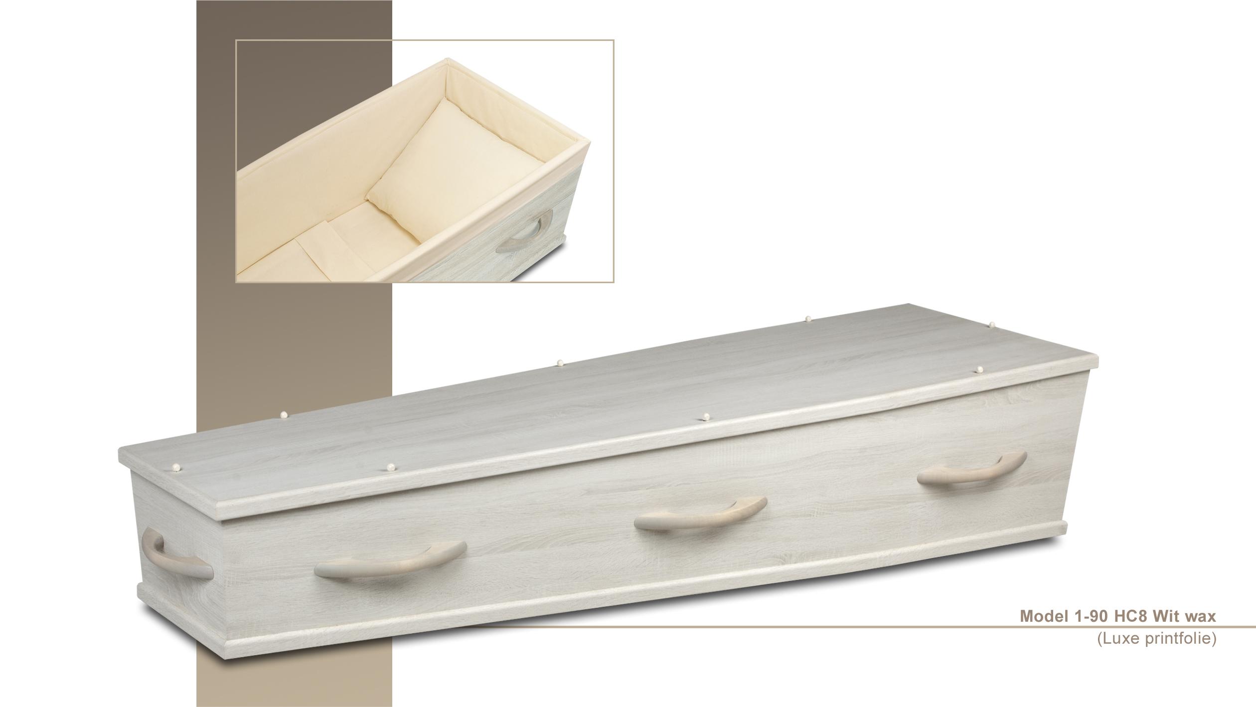 Wax kist houten grepen. Meerprijs: € 145,00